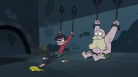 S3E6 Marco reaches for the butter with his toes