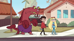 S1E13 Lobster Claws walks with Star and Marco