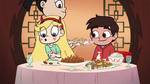 S1E16 Star playing with her chopsticks