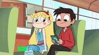 S1E22 -star marco looks at phone