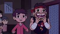 S2E37 Marco Diaz and Sensei excited