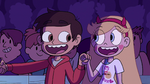 S2E39 Star and Marco lip-syncing happily