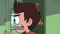 S2E26 Marco Diaz looking closely at his reflection