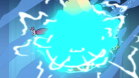 S1E17 Star and Marco caught in time magic