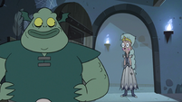 S3E7 Buff Frog steps aside to reveal Queen Moon