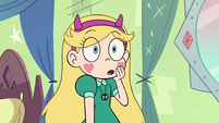 S2E1 Star Butterfly in surprise