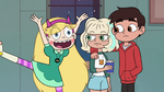 S2E41 Star appears next to Marco and Jackie