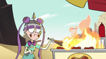 S2E9 Mina Loveberry sets hot dog cart on fire