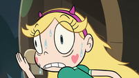 S3E5 Star Butterfly in a nervous sweat