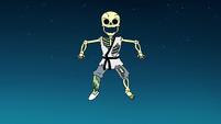 S2E19 Mackie Hand's skeleton