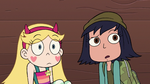 S2E16 Star and Janna look in Skullnick's direction