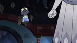 S2E41 Ludo-Toffee floating over Queen Moon