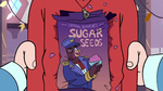 S3E4 Crushed box of Captain Blanche's Sugar Seeds