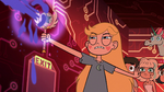 S2E17 Star Butterfly blasts the truth cube with magic