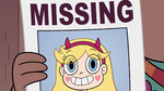 S2E7 Star Butterfly on MISSING poster