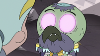 S3E7 Ludo opens his eyes to reveal pink pupils