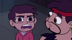 S2E37 Marco Diaz angrily confronting his sensei