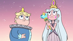 S3E2 Queen Moon and River hear Rhombulus