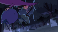 S2E27 Eagle picks up spider during fight with Marco