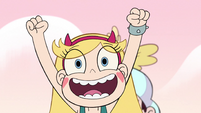 S2E15 Star Butterfly 'at the grown-up table!'