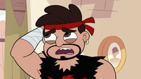 S2E4 Dojo Sensei acting nervous to Marco