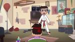 S2E37 Marco Diaz begins a karate demonstration