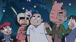 S2E41 Cats landing on the bad kids' faces