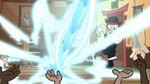 S1E5 Magic beam hits floor next to sensei