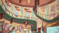 S2E11 Star Butterfly's spacious house loft
