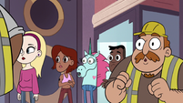 S2E24 Pony Head and civilians hear police siren