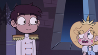 S2E40 Star Butterfly backs away from Marco Diaz
