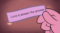 S1E16 Love is always the answer