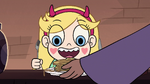S2E7 Brigid gives pancakes to Star Butterfly
