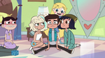 S2E17 Star seats Marco between Jackie and Janna