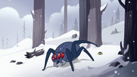 S2E2 Giant spider frees itself from the snow