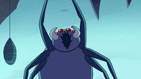 S2E2 Giant spider gives a menacing shriek