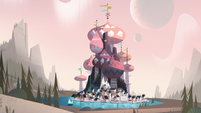 Star Comes to Earth background - Mewni long shot