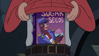 S3E7 Marco reveals box of Sugar Seeds cereal