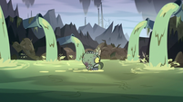 S3E3 Ludo marching angrily through sewage