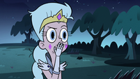 S3E5 Queen Moon looking at Buff Frog