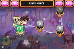 Creature Capture level select screen
