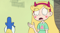 S2E23 Star Butterfly realizes her wand is gone