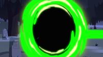 S2E27 Mystic Room Suck Transform's aura turns green