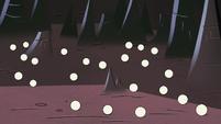 S2E3 Underworld floor covered in ping pong balls