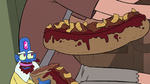 S2E5 Glossaryck makes a meatball sub for Oskar