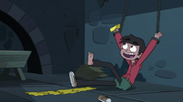 S3E6 Marco Diaz catches the butter in his hand