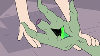 S3E7 Magic draining from Ludo's wand hand