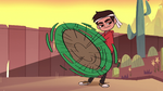 S1E3 Marco spinning a rake