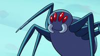 S2E2 Giant spider raises a mandible