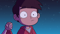 S2E39 Marco surprised when Star grabs his hand